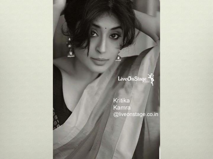 Live on stage » Television Artist Kritika Kamra