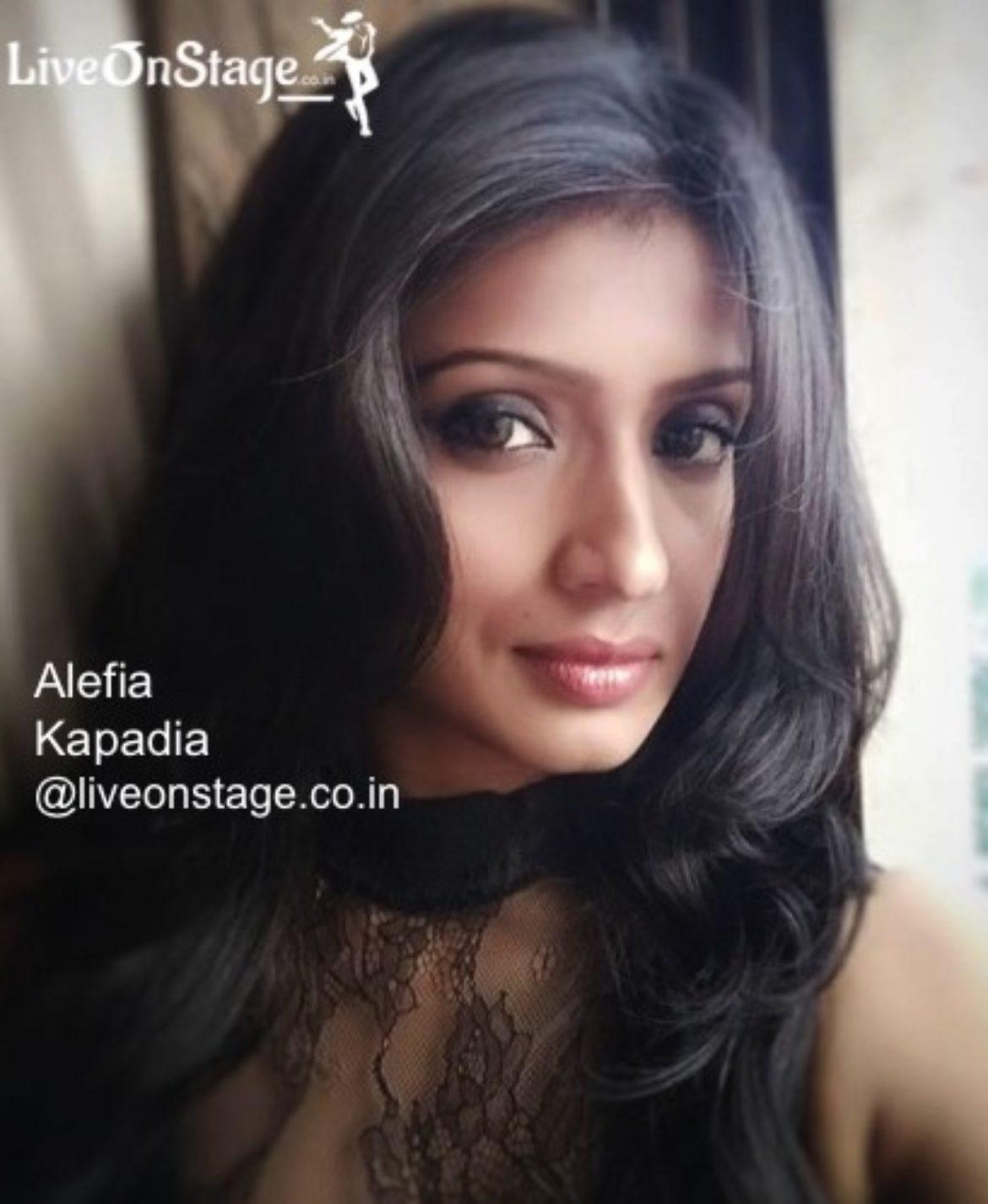 Live on stage » Television Actress & Host Alefia Kapadia