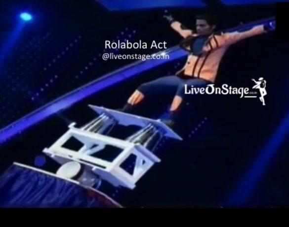Rolabola Act, Circus Performer, Circus Stunt Performer, Balancing Act, Balancing Stunt Performer