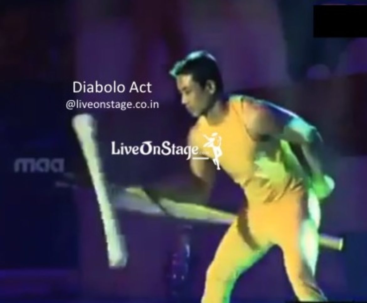 Diabolo Act, Circus Act, Circus Stunt Performer, Balancing Act, Interactive Act, Live On Stage,