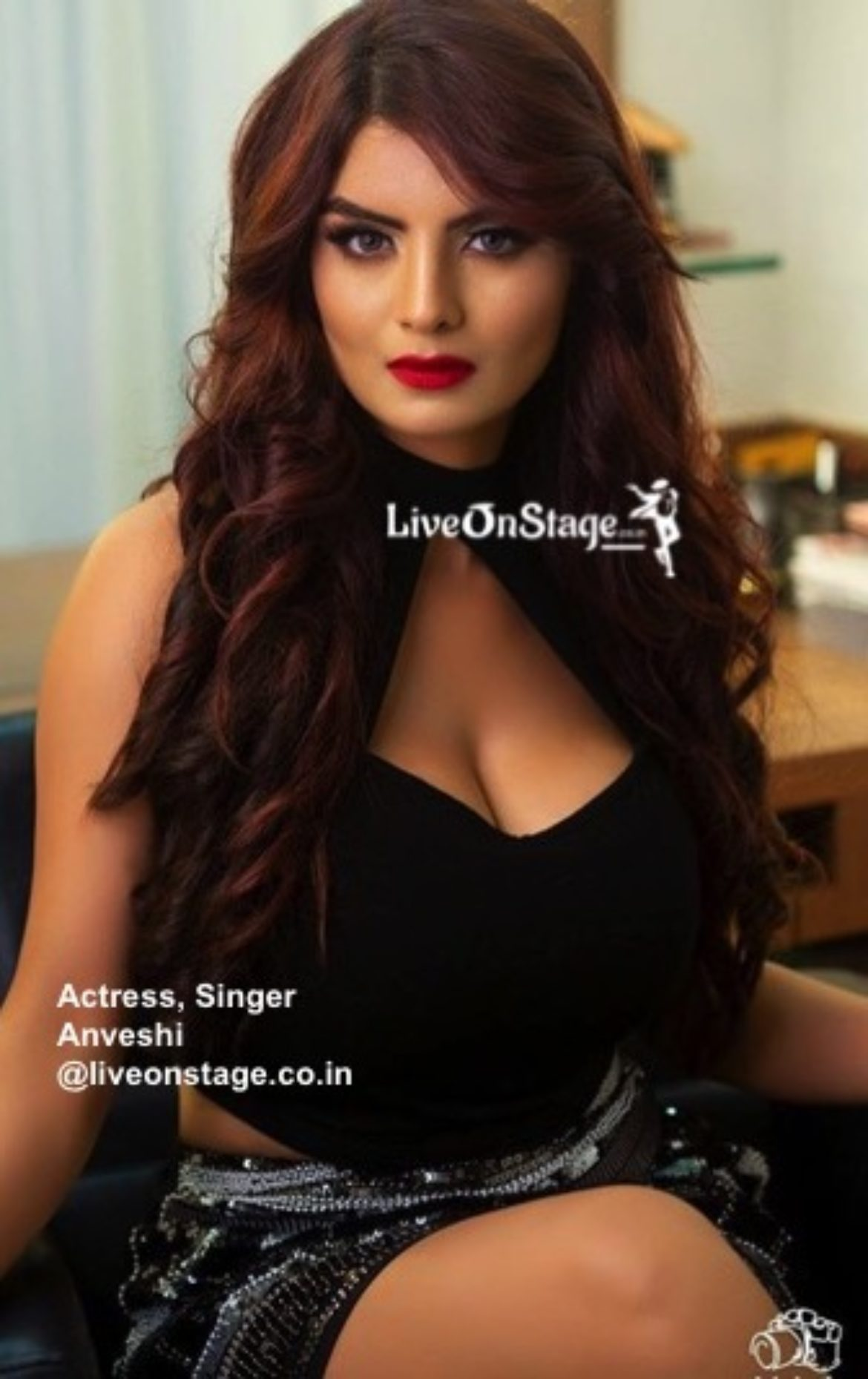 Live On Stage  Bollywood Actress, Singer, Event Host Anveshi-1796