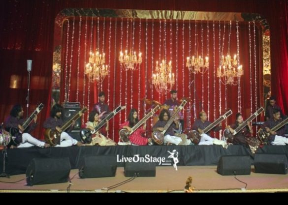 Sitar Symphony, Symphony, Classical Musicians, Musicians, Fusion Music, Stage Performers, Live On Stage, Live On Stage Entertainment, Big Stage, Television