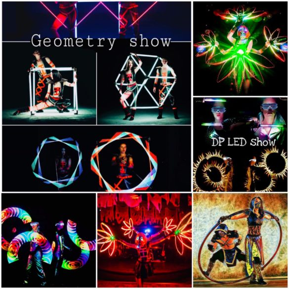 Led Show, Led Costume Show, Technology, UV show. Laser Show, Interactive Act, Visual Show, Stage Show, Live on Stage, Led Interactive Show