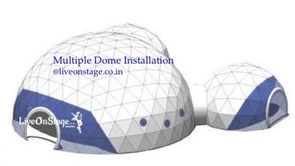 360 Dome Projection, 3d Projection, Projection Act, Virtual Show, 3D Theatre, Projection Show, Geodesic Dome, Rigged Dome, Live On Stage, Live On Stage Entertainment