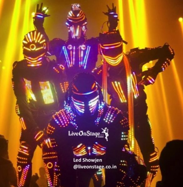 Led Shows, Led Costume Shows, Led, Interactive Shows, Stage Shows, Live On Stage, Live On Stage Entertainment,